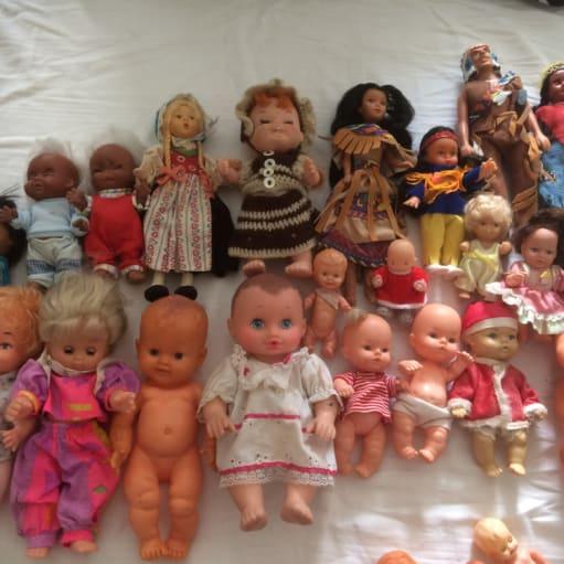 Dukke samling