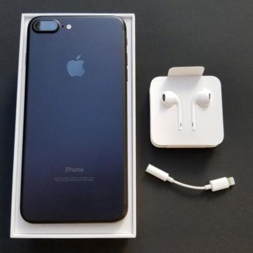 Apple iPhone 8 plus, 128gb, sort