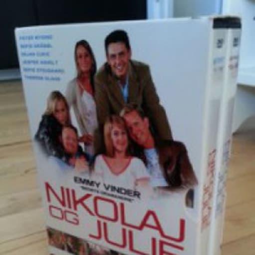nikolaj og julie dvd boks