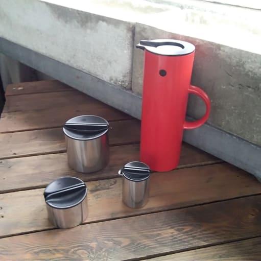 Klassisk STELTON Kaffe sæt - 4 dele