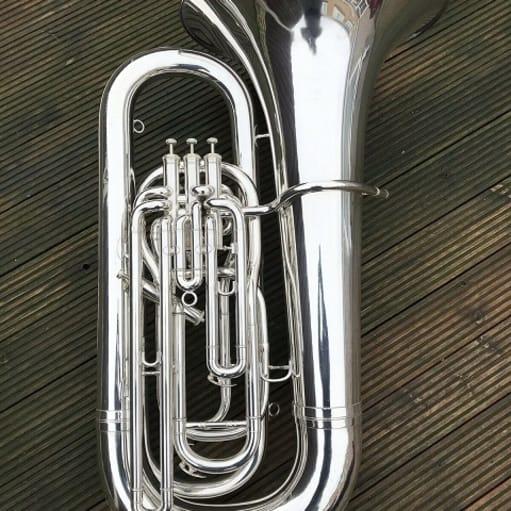 Besson Sovereign BE994-2 BBb Tuba-Sølv