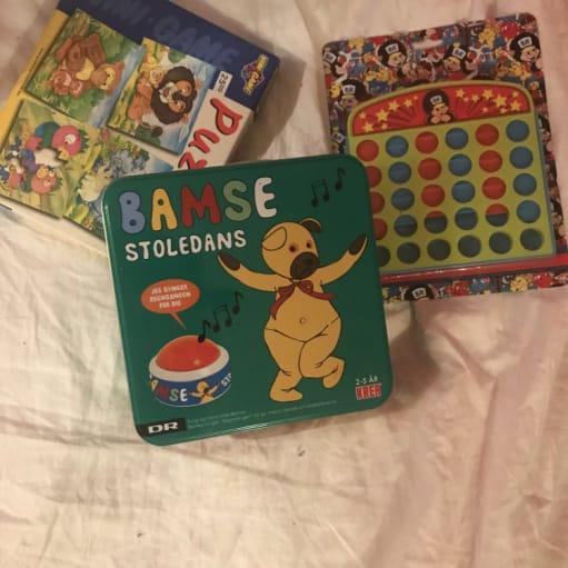 Forskellige børnespil