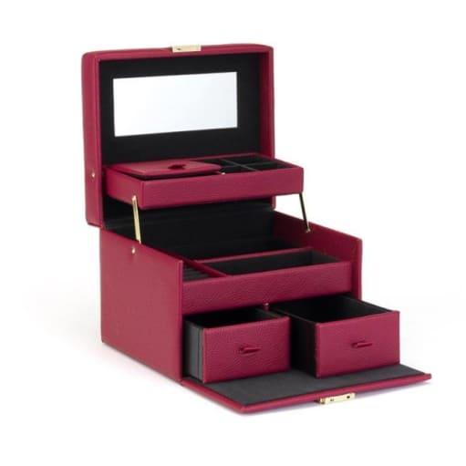 Jewelry Box Vanity Beauty Fuchsia Pink JJDK