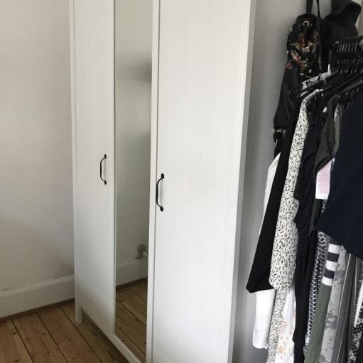 Garderobeskab fra IKEA, så godt som nyt