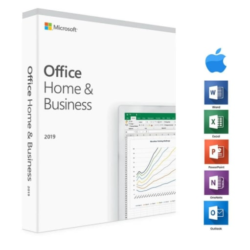 Microsoft Office Home & Business 2019 Mac & PC