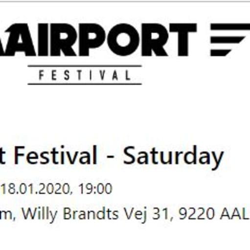Billetter til Airport Festival for 2