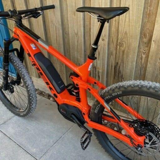 2018 Trek Powerfly 9LT - Elektrisk mountainbike - stor