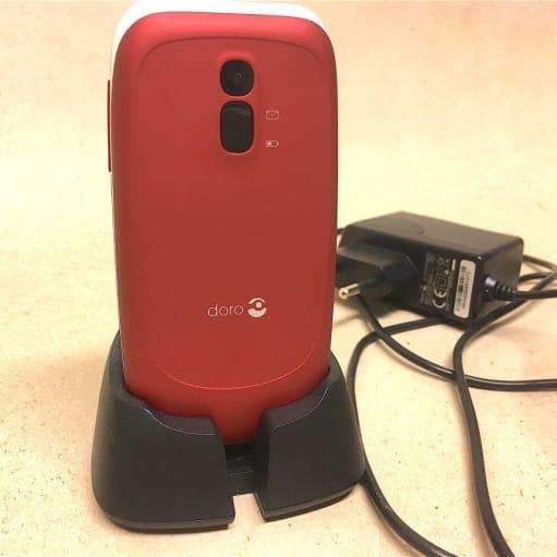 mobiltelefon doro 608 rød