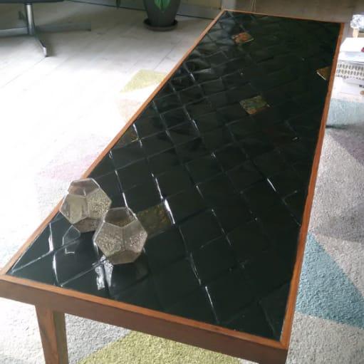 Snedker lavet retro sofabord