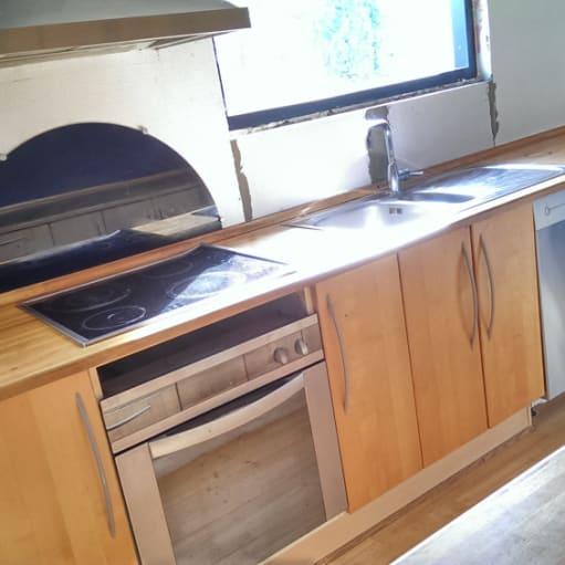 Velholdt ældre IKEA køkken til salg