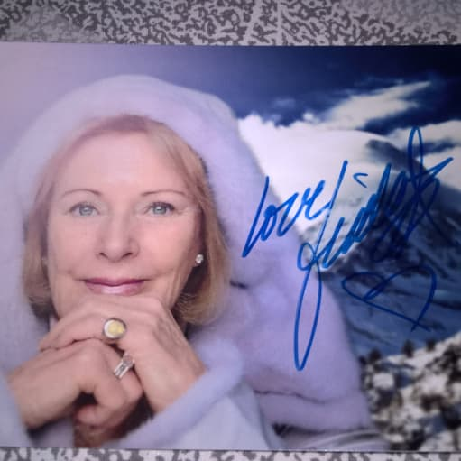ABBA Frida autograf