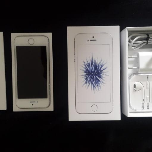 IPhone SE, 64 GB Silver, Perfekt