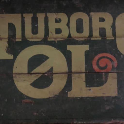 Træ øl kasse fra Tuborg