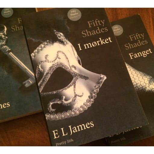 Fifty shades of Grey , E.L James