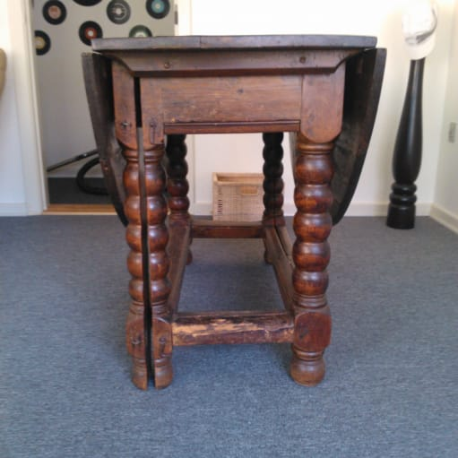 Engelsk Gate - Leg Table