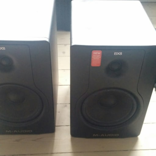 Højttaler, M-AUDIO BX8 D2, aktiv