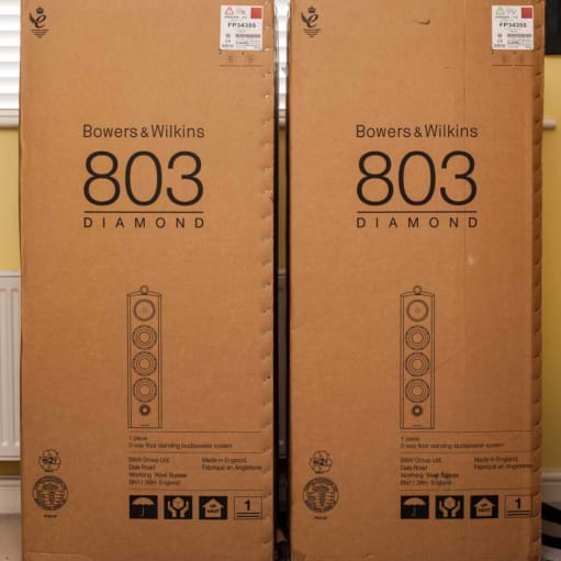 500W 803 D2 Bowers Wilkins