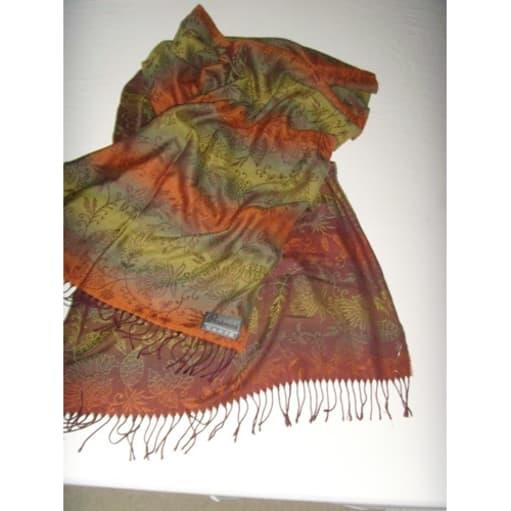 Pashmink stort tørklæde 60x 173