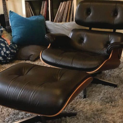 Herman Miller Eames Lounge - stol og osmannisk