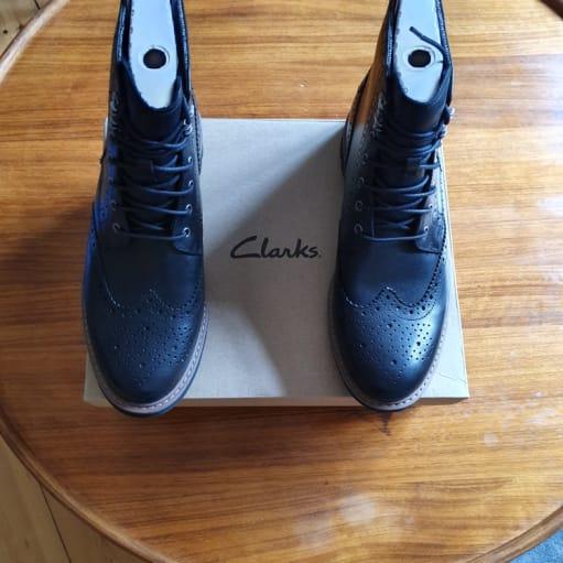 Clarks støvler UBRUGT i orginal æske