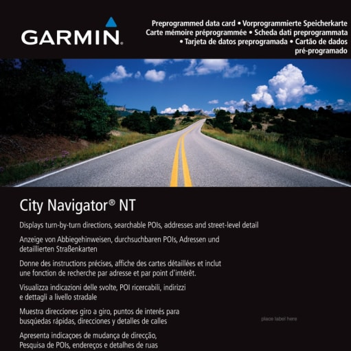 Garmin Software/Kort opdatering 2017.