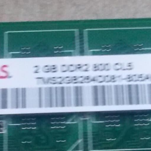 Takeme, 2, DDR2 SDRAM, DIMM 240-pin, Perfekt
