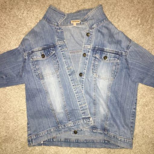 Denim dame jakke