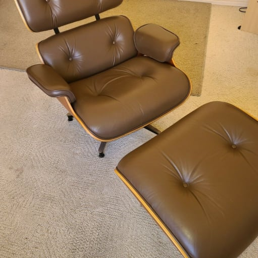 2009 Herman Miller Eames stol med osmannisk