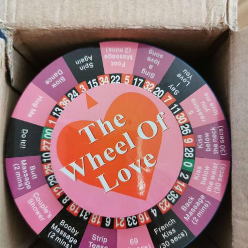 Wheel of love spil