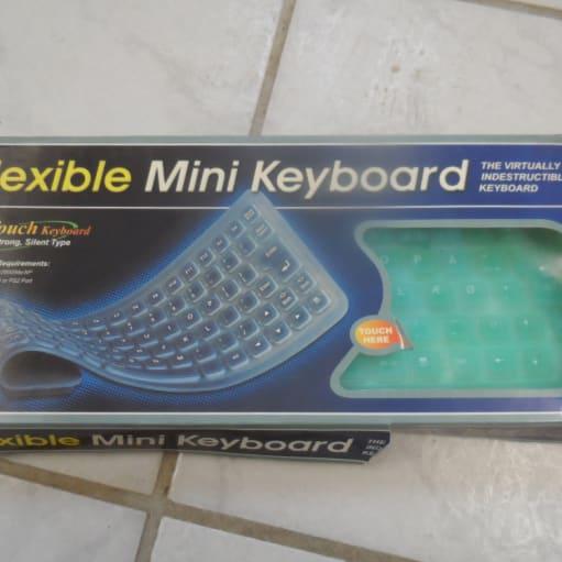 Flexible Mini Keyboard – vaskbart – god til fødevare industrien IP 67