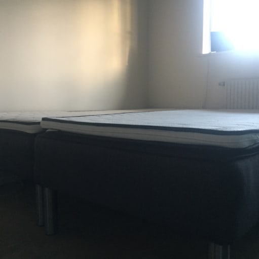 Boxmadras 90x200 DREAMZONE inkl. topmadras - 2 stk.