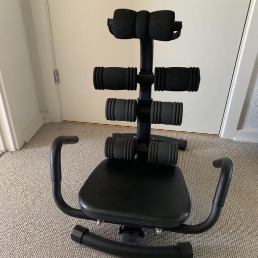 Træningsmaskine til maven