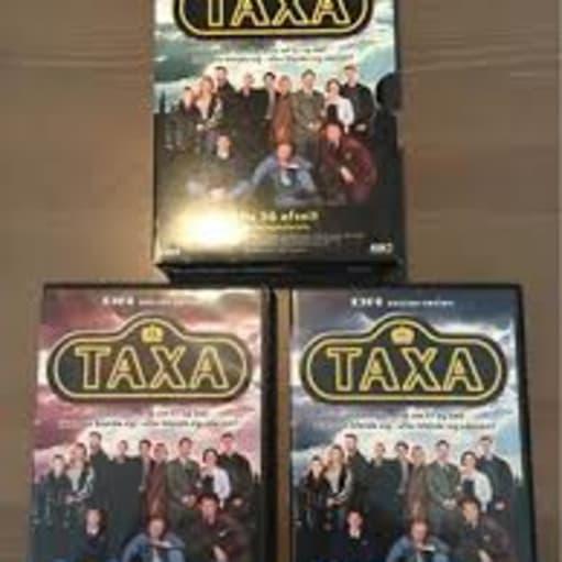 taxa dansk serie dvd boks