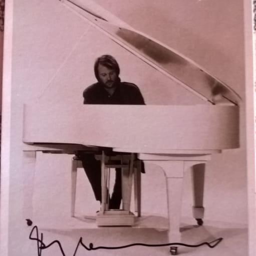 ABBA Benny autograf