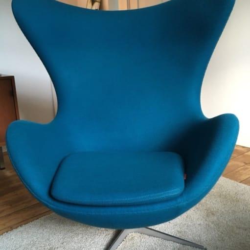 Original Fritz Hansen EGG-stol Arne Jacobsen - TOP