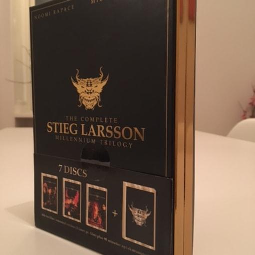 The complete Stieg Larsson Millennium Trilogy, DVD, thriller