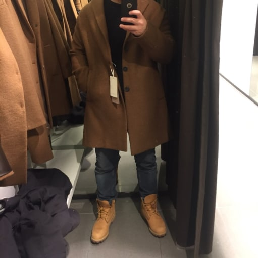 Frakke fra Zara Man
