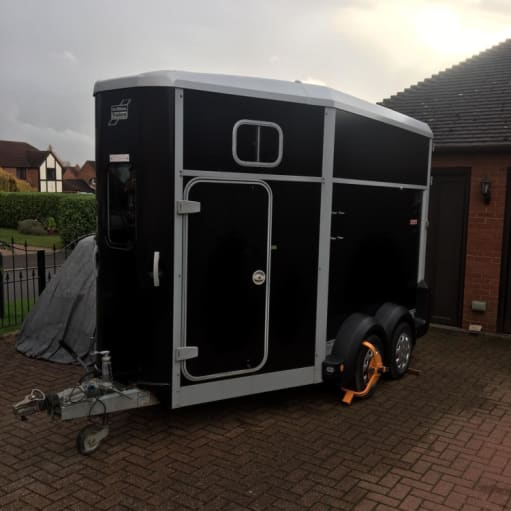 2013 Ifor Williams hb511 hest trailer