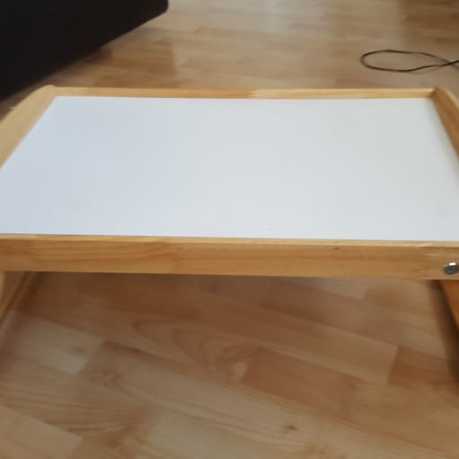 Ikea Folding spise table for bed