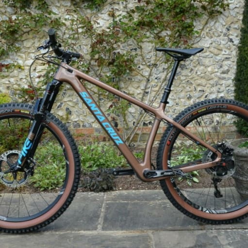 2021 Santa Cruz Chameleon Carbon 27.5 Hjul - størrelse M