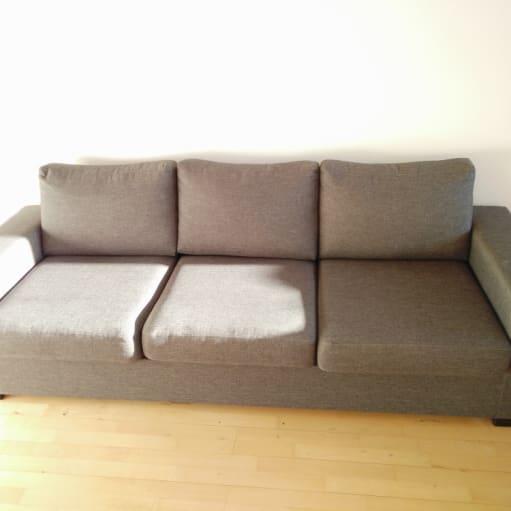 Lækker og næste ny sofa