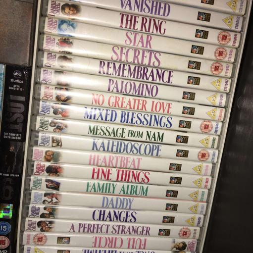 19 stk Danielle Steel film, helt nye!!