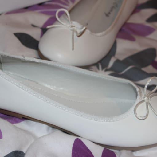 Nye ballerina sko (ikke brugt)