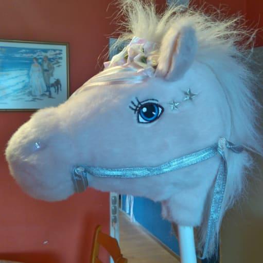 Hoved af en hest