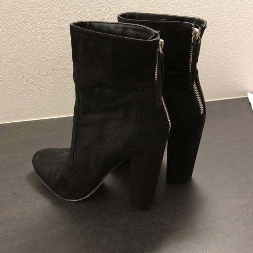 Støvler med høj skaft