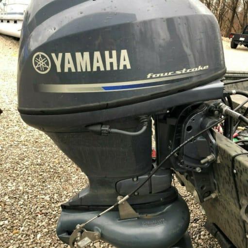 2017 Yamaha 30 hk 4-takts påhængsmotor Jet Drive bådmotor F40JEA