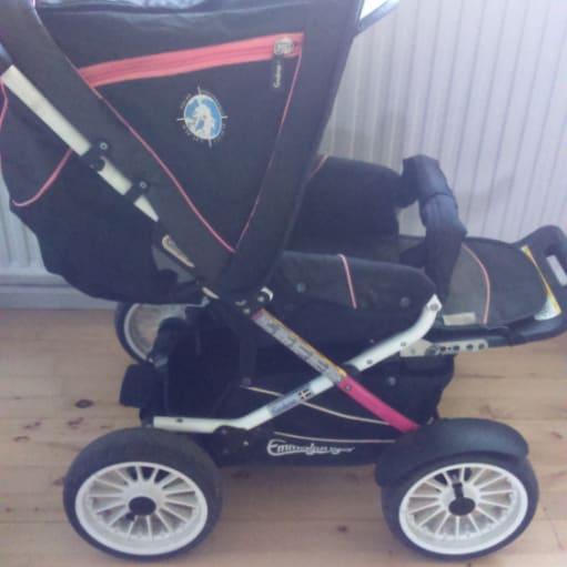 Emmaljunga scooter 2.0 klapvogn