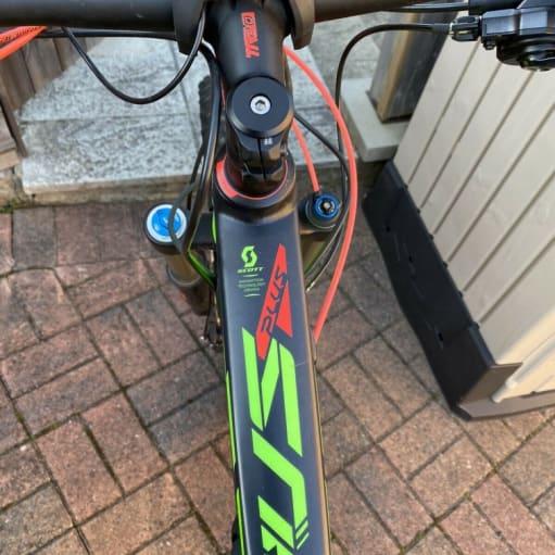 2020 Elektrisk mountainbike Scott Genius E-cykel