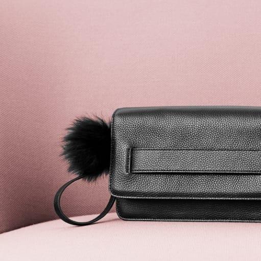 Ny skind clutch fra Oh! By Kopenhagen Fur