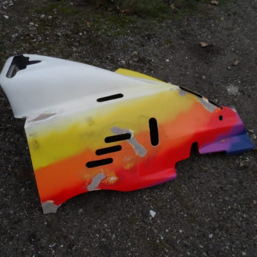 Body Part Van Diemen RF93 – Motor Cover – Formula Ford